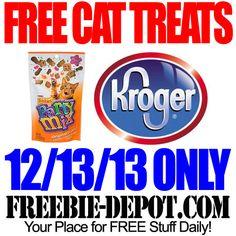 FREE Cat Treats from Kroger