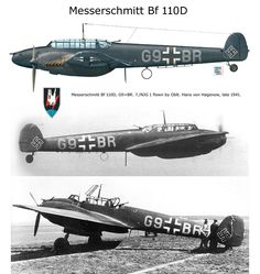 Bf 110D