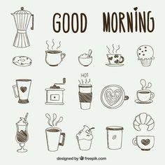 Bullet journal drawing ideas, breakfast doodle drawings. | @lovestudiesz #drawingideas #doodledrawings