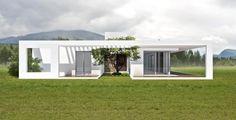 Case in stile in stile Minimalista di 1.61 Arquitectos