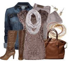 """Jacquard Top"" by qtpiekelso on Polyvore"
