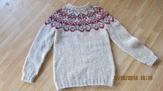 hand knitted Icelandic sweater by SiggasKnit on Etsy, $179.00