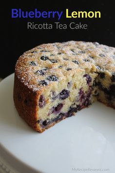Tea Cakes, Food Cakes, Cupcake Cakes, Cupcakes, Blueberry Cake, Blueberry Recipes, Apple Cake Recipes, Breakfast Cake, Coffee Cake