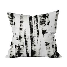 Ah, to take a nap in the woods. Sometimes it's the only place to find solace. Now, you can bring the outdoors indoors with this woodsy throw pillow inspired by the papery bark of a wild birch tree. Cho...  Find the Wild Birch Throw Pillow, as seen in the Wild, Stylish & Free Collection at http://dotandbo.com/collections/wild-stylish-and-free?utm_source=pinterest&utm_medium=organic&db_sku=90848