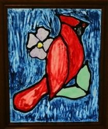 Create beautiful art with your child by trying this faux stained glass tutorial. You can display your finished pieces on a glass door or window.