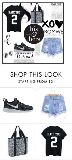 """""""romwe"""" by zina1002 ❤ liked on Polyvore featuring NIKE"""