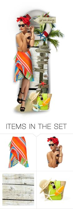 """Go To Beach ! :)"" by mari-777 ❤ liked on Polyvore featuring art, Summer, doll and beach"