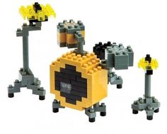 Music Sales Nanoblock: Drum Set Lego Modellbau Toy Schlagzeug
