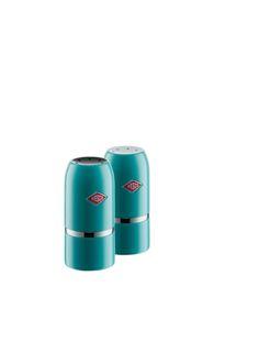 Zout- en peper strooi set - Turquoise - Wesco