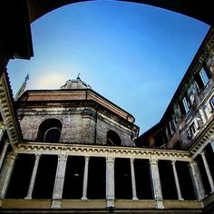 #photographylovers @unacerta_federica    #chiostrodelbramante #roma #Bramantestaircase #museum #Rome #Bramante #architecture #museum #igersroma #seidiromase #loves_roma #pic #latergram #italy #ig_italy #italia #whpfoundframes
