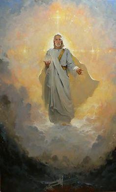 God Almighty, Jesus the Christ Jesus Painting, Spiritual Art, Jesus Art, Prophetic Art, Bible Art, Jesus Christ Images, Lds Art, Art, Angel