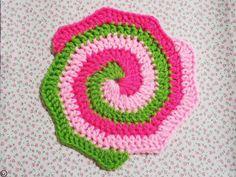 CAL JUNE Minimalize Ideas : Crochet 3 Colors Spiral. | Malaysian Handmade Crafts- The Kawaii Geek.