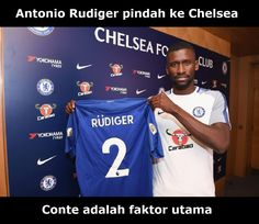 Menurut Rudiger, Antonio Conte Adalah Faktor Utama Kehebatan Chelsea