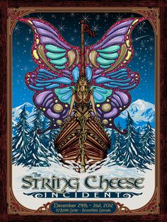 I mean need I say more....The String Cheese incident knows who to commission for art!! By fensterer. A lot of great stuff.