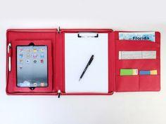 Executive iPad Case Portfolio with notepad holder for Original ipad