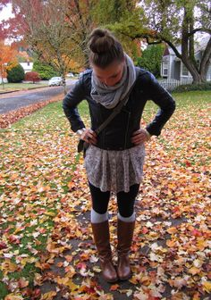this outfit from urban nester. is making me crave fall!