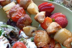 Gluten Free & Dairy Free Honey Chicken Kabobs | Once A Month Meals | Freezer Cooking | OAMC