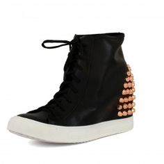 miaShoes | Online Catalog > Jeffrey Campbell Spike Sneaker Jeffrey Campbell, Catalog, Wedges, Sneakers, Shoes, Fashion, Tennis, Moda, Slippers