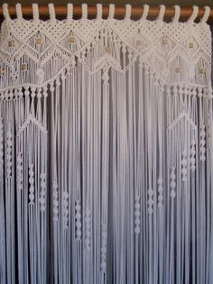 cortina de macramé - Google Search