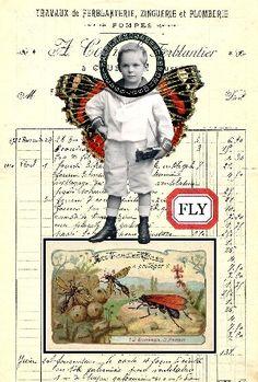 Lisa's Collage Stuff Blog: New Postcard