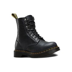 Dr. Martens Pascal PM 8 Boots (495 RON) ❤ liked on Polyvore featuring shoes, boots, graphite grey naturesse, men, urban footwear, urban shoes, grey shoes, rugged boots and dr martens footwear