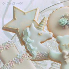 ゆめかわ★バースデイクッキー ~Cookie Crumbs~クッキー・クラムズのアイシングクッキー