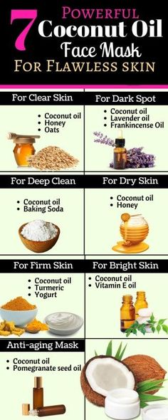 7 Powerful Coconut Oil Face Mask For Flawless skin