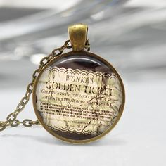 charlie and the chocolate factory necklace - Google Search