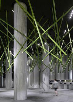 Nanchang Insun International Cinema in Nanchang, China by One Plus Partnership Ltd.; Movie Theater design; Experiential design
