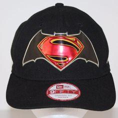 timeless design 56127 97f59 Batman v Superman Dawn Of Justice Logo Black Gray New Era 9Fifty Snapback  Hat