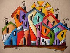 Benvindos ao meu espaço, dedicado a todos os que como eu, procuram uma forma de expressar a sua criatividade e amam trabalhos em artes manuais. Os trabalhos manuais são uma boa forma de terapia e fortalecimento da auto estima. Todos estes trabalhos resultam de muita dedicação e gosto pelas artes decorativas no geral. Neste espaço estarei disponivel para trocar ideias, esclarecer, aprender e ensinar. Espero que o espaço vos agrade e deixem os vossos comentários. Doodle Art, Frida Art, Cubism Art, Art Drawings For Kids, Naive Art, Colorful Paintings, Whimsical Art, Fabric Painting, Diy Art