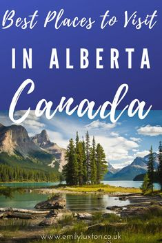 Get off the beaten path in Canada by adding these stunning Alberta destinations to your road trip. These are some of the best places to visit in Alberta. Waterton Lakes National Park, National Parks, Canadian Travel, Emerald Lake, Travel Usa, Travel Tips, Alberta Canada, Central America, Cool Places To Visit