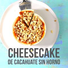 Video de Cheesecake de Cacahuate sin Horno This delicious cheesecake option is delicious and very si Breakfast Recipes, Snack Recipes, Dessert Recipes, Cooking Recipes, Snacks, Cooking Herbs, Cooking Beef, Cooking Courses, Cooking Tools
