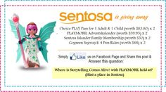 sentosa june holiday giveaway  #sentosa #schoolholidays #Playmobil #thenewageparents