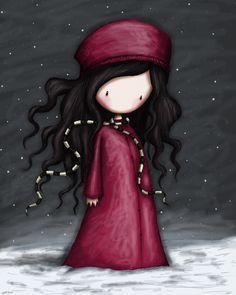 "Gorjuss ""Winter Solstice"" - View ALL the Gorjuss artworks at www.SuzanneWoolcott.com"