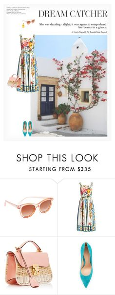"""""""DREAM CATCHER"""" by paint-it-black ❤ liked on Polyvore featuring Thierry Lasry, Dolce&Gabbana, Mark Cross, Gianvito Rossi and Humble Chic"""