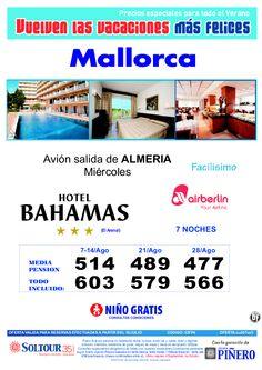 4ªEdición Las vacaciones mas felices. Hotel Bahamas salidas desde Almería - http://zocotours.com/4aedicion-las-vacaciones-mas-felices-hotel-bahamas-salidas-desde-almeria/