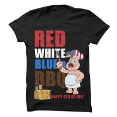 RED, WHITE, BLUE and BBQ T Shirts, Hoodies. Get it here ==► https://www.sunfrog.com/Holidays/RED-WHITE-BLUE-amp-BBQ.html?57074 $19
