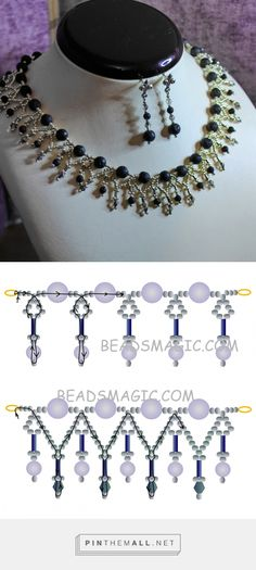 2228 Besten Perlen Bilder Auf Pinterest In 2018 Beaded Jewelry