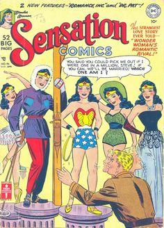 Wonder Woman 1950s