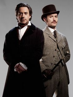 "Robert Downey Jr. and Jude Law, ""Sherlock Holmes: A Game of Shadows"" (2011)"