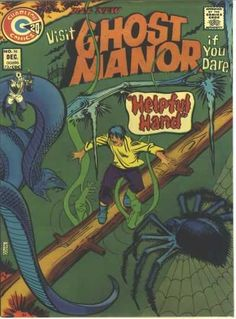 Ghost Manor #16 (Issue)