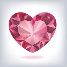 heart shaped diamond tattoo - Google Search