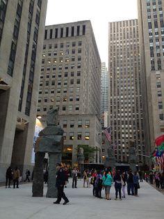 Rockefeller Plaza in New York City