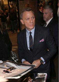 Daniel Craig attends the '007 Spectre' Paris Premiere at Le Grand Rex on October 29, 2015
