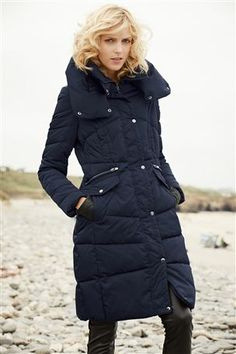 Red Herring Black hooded parka coat- at Debenhams Mobile | Autumn ...