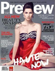 Preview Magazine [Philippines] (November 2009) Anne Curtis