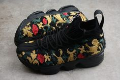 7762d305d8c0f 2018 KITH x Nike LeBron 15 Closing Ceremony Black Multi-Color Price-1 Nike