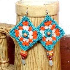 61033f3c2b2b6 32 mejores imágenes de Accesorios tejidos en crochet