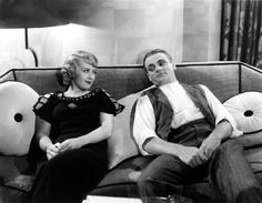 """Joan Blondell and James Cagney from """"Footlight Parade""""."""